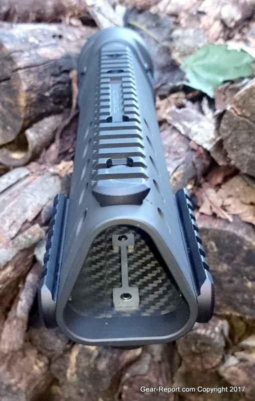 Precision Reflex Gen III Delta handguard review - Carbon Fiber