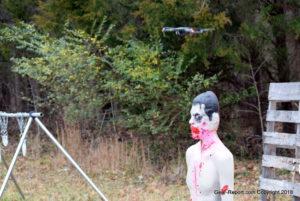 drone as diy target camera