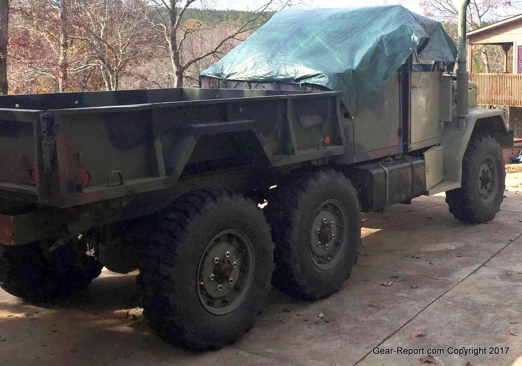 The Deuce Utility Vehicle Duv Project M35a2 Brakes Axles