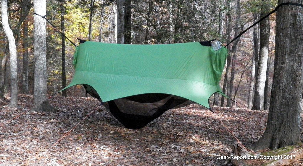 Sierra Madre Research Nubé Hammock Shelter Review Setup