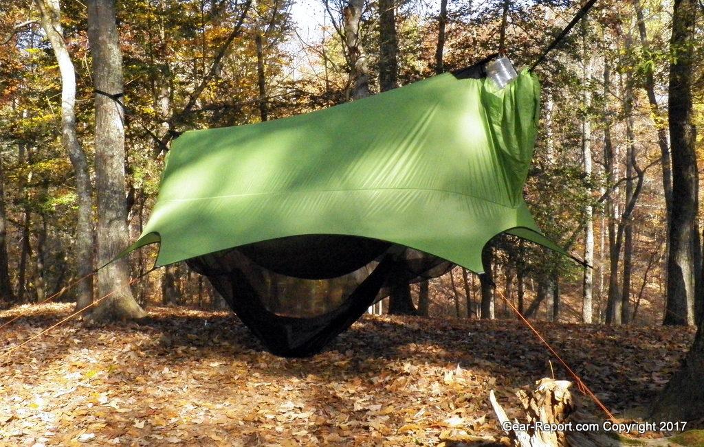 Outdoor Vitals Summit 30 down sleeping bag review Nube hammock