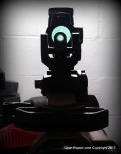 Fake Chinese Trijicon MRO Knock-Off Review - Mounted on AR15 - absolute co-witness