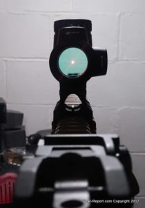 Fake Chinese Trijicon MRO Knock-Off Review - bright red dot