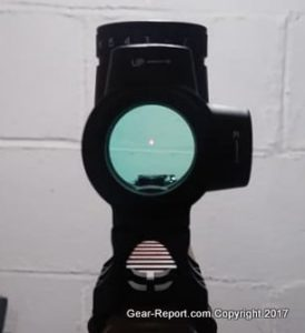 Fake Chinese Trijicon MRO Knock-Off Review - Mounted on AR15 - clear glass