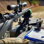 Sightmark Pinnacle TMD Rifle Scope Review bench shooting