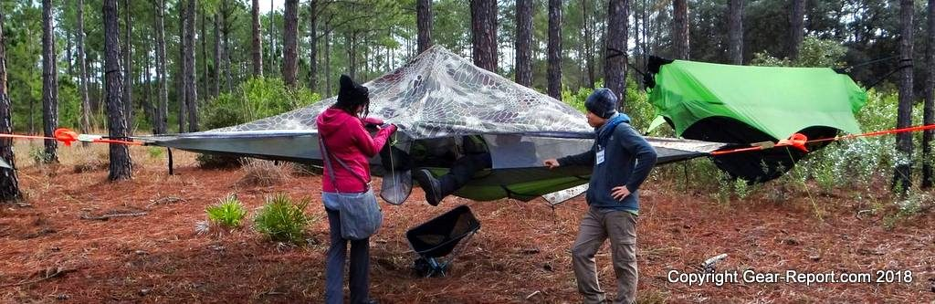 Outdoor Vitals Summit 30 down sleeping bag review Tentsile Stealth