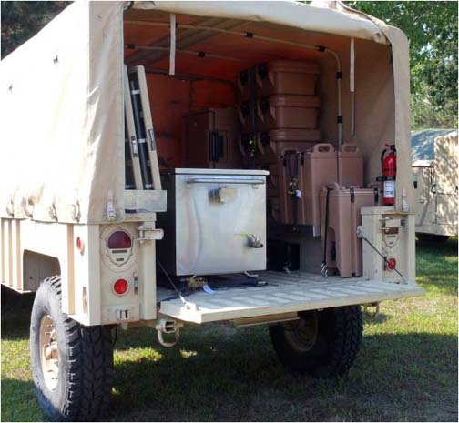 Humvee Trailers - HMMWV trailer manuals and info - M101 M1101 M1102 on