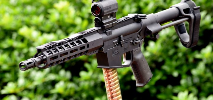 Palmetto State Armory PX-9 Review - 9mm AR15 Pistol - Gear