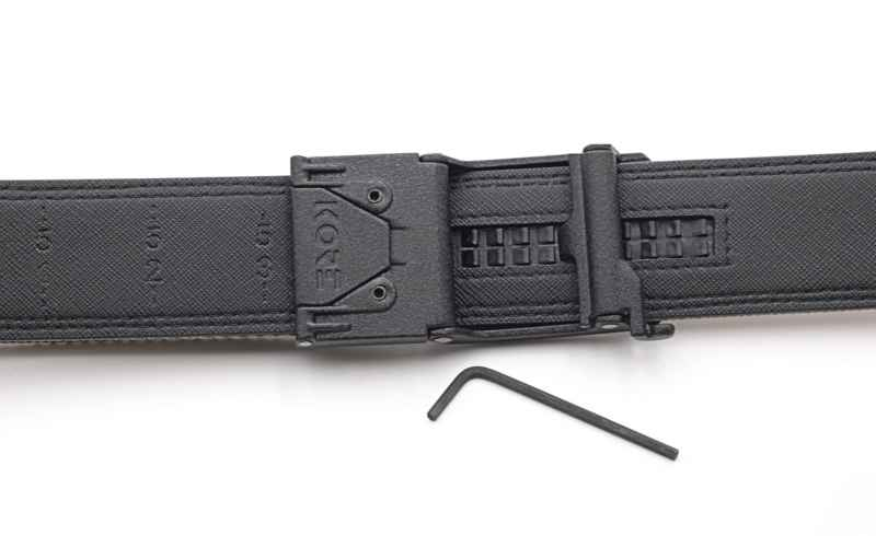 Kore Essentials Gun Belt Review Gear Report Gear Report This belt allows you to pull the end to adjust to your waist size. kore essentials gun belt review gear